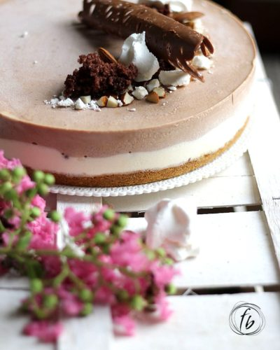 cheesecake alla nutella e yogurt