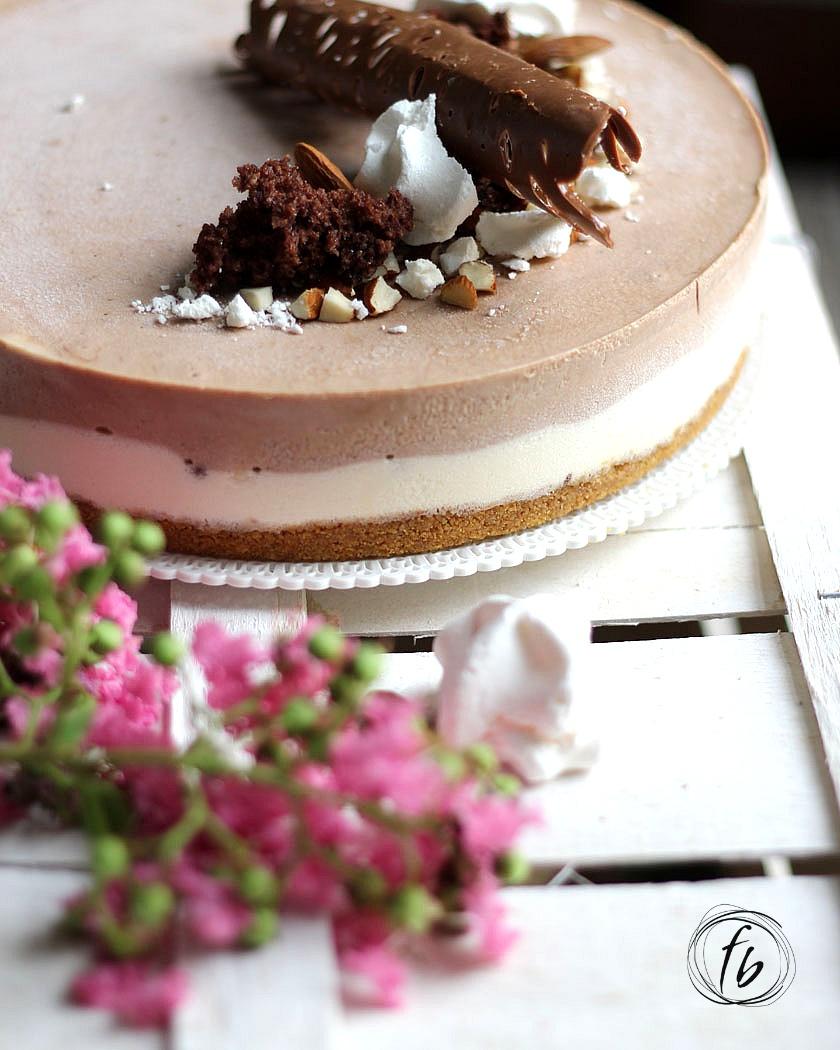 cheesecake alla nutella e yogurt