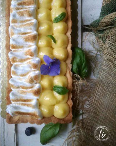 francesca bruno crostata-meringata-limone-basilico